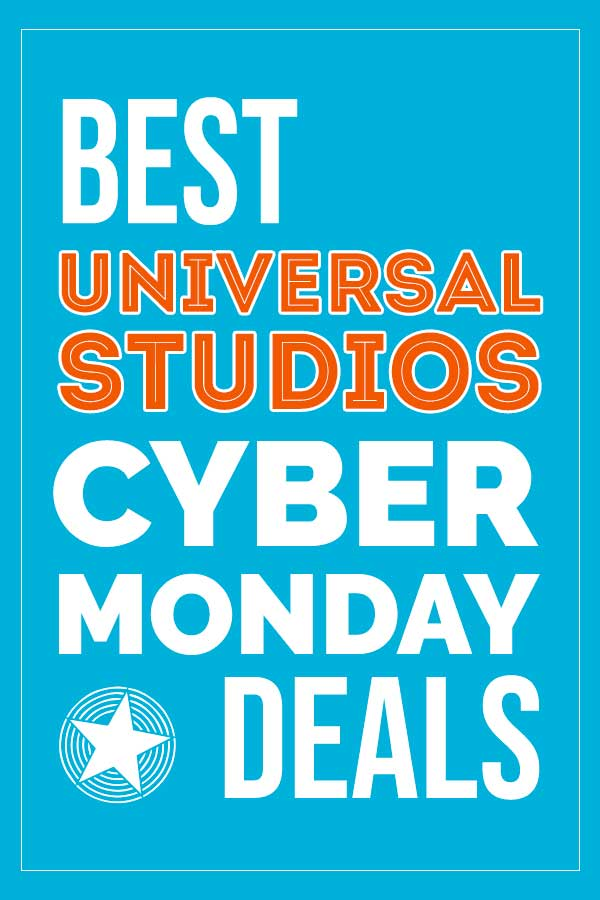 All the best Universal Studios Cyber Monday deals