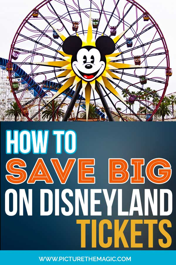 How to Save Money on Disneyland Tickets! #disneyland #tickets #disney