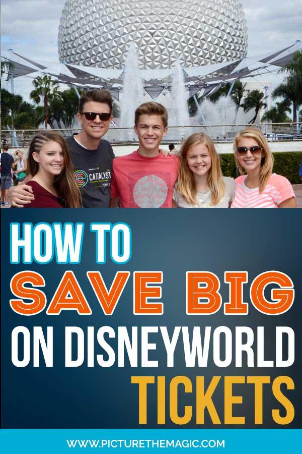 How to Save Money on Disney World Tickets! #disneyworld #tickets #disney #epcot