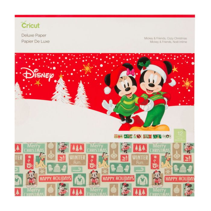 Mickey & Friends Cozy Christmas Deluxe Paper