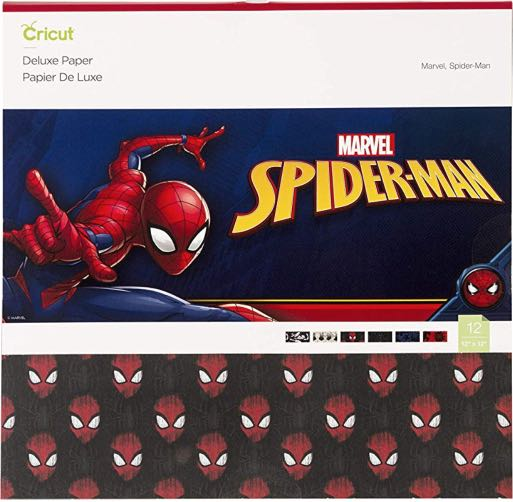 Cricut Deluxe Paper, Marvel Spiderman