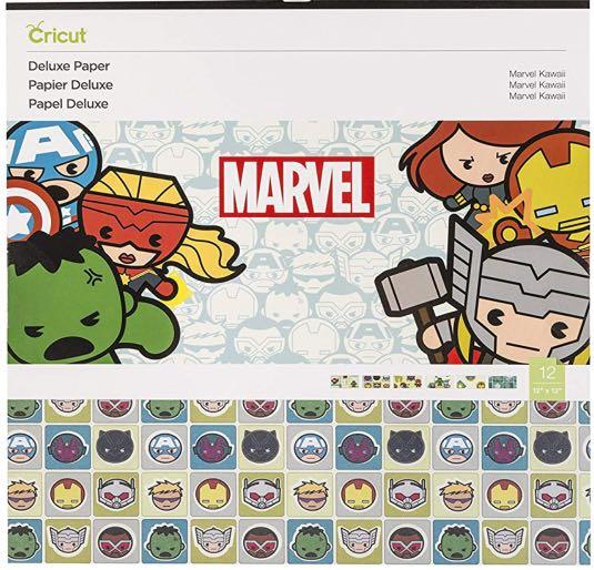 Cricut Deluxe Paper, Marvel Avengers Kawai