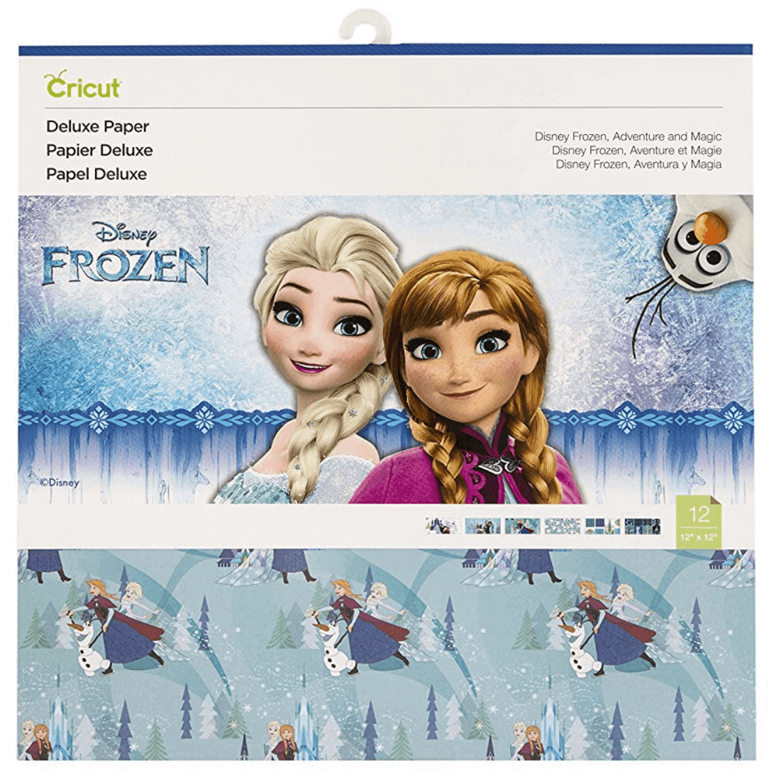 Deluxe Paper, Frozen Adventure and Magic