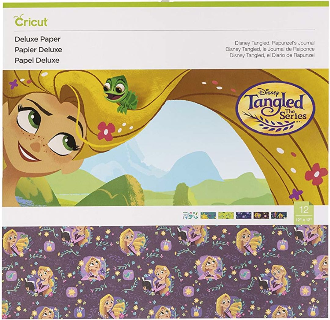 Deluxe Paper, Disney Rapunzel in Tangled
