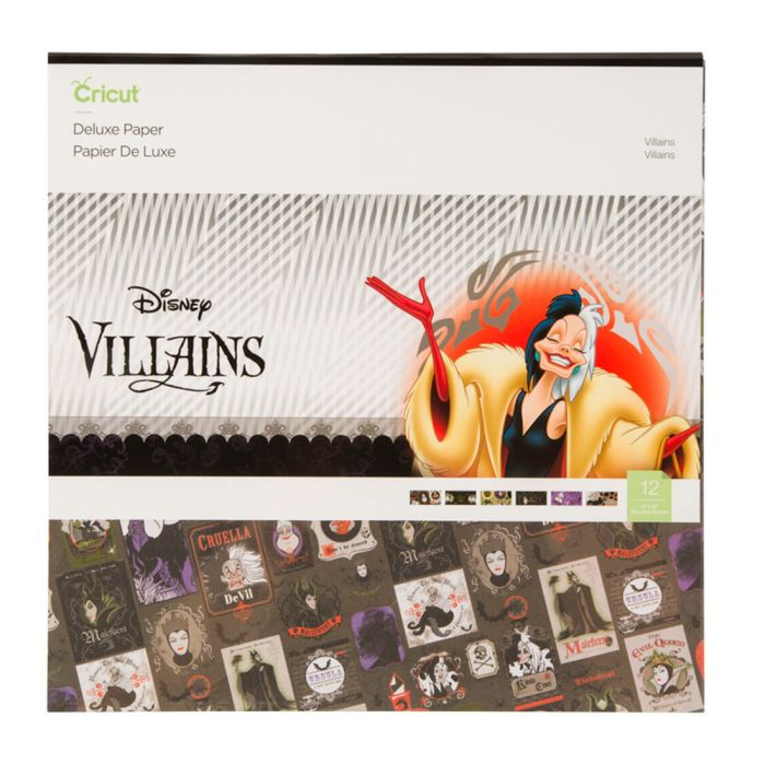 Deluxe Paper, Disney Villains