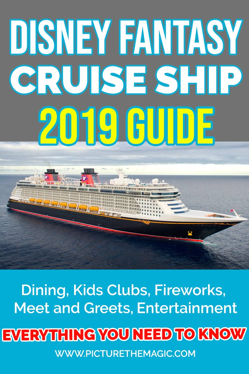 All about the Disney Fantasy! This guide will tell you all you need to know before you set sail