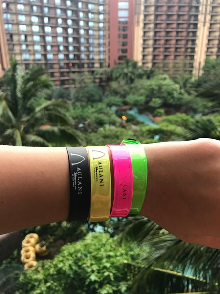 Aulani Wristbands