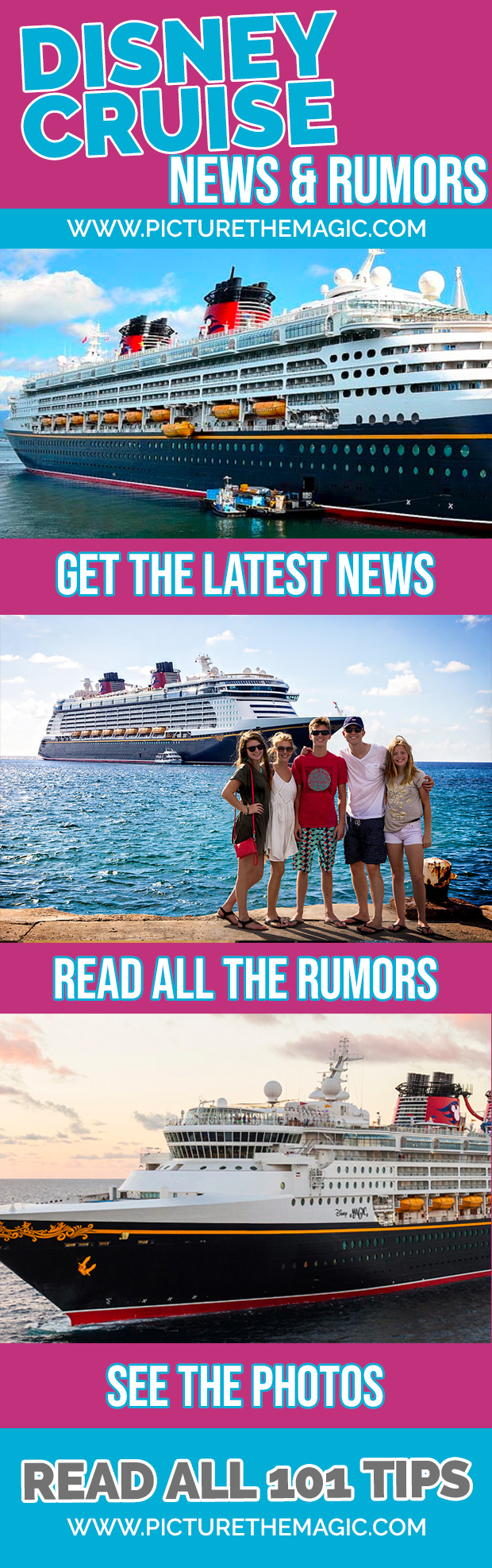 Disney Cruise News, Updates, and Rumors! #disneycruise #dcl #disneycruiseline