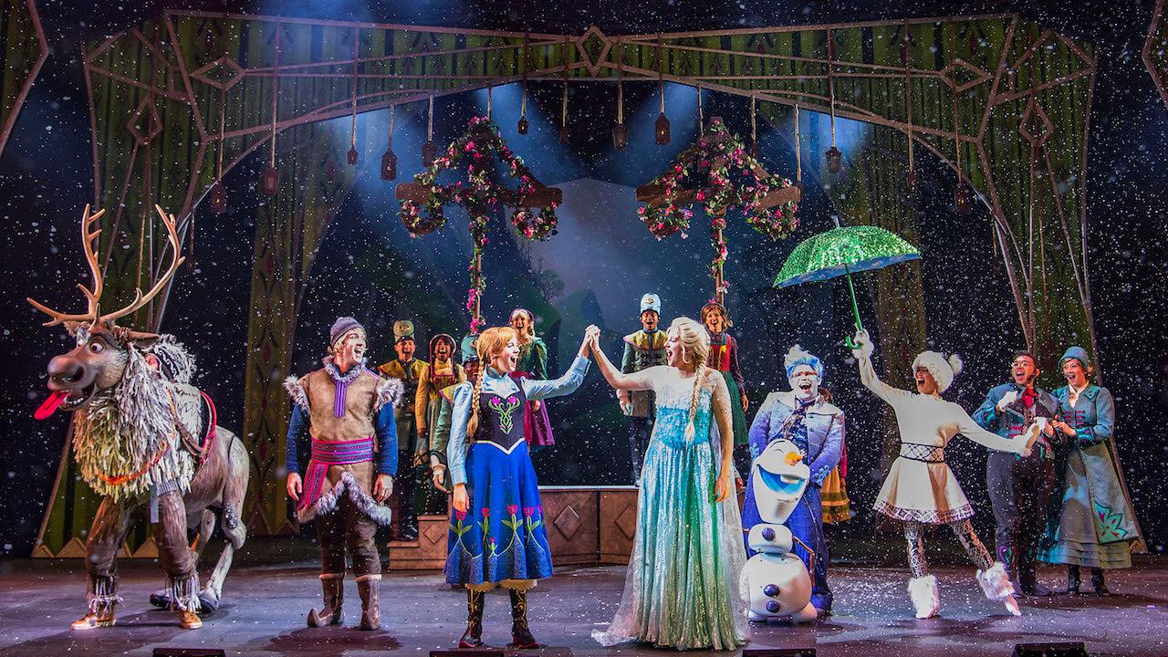 Frozen the Musical on Disney Fantasy Cruise Ship