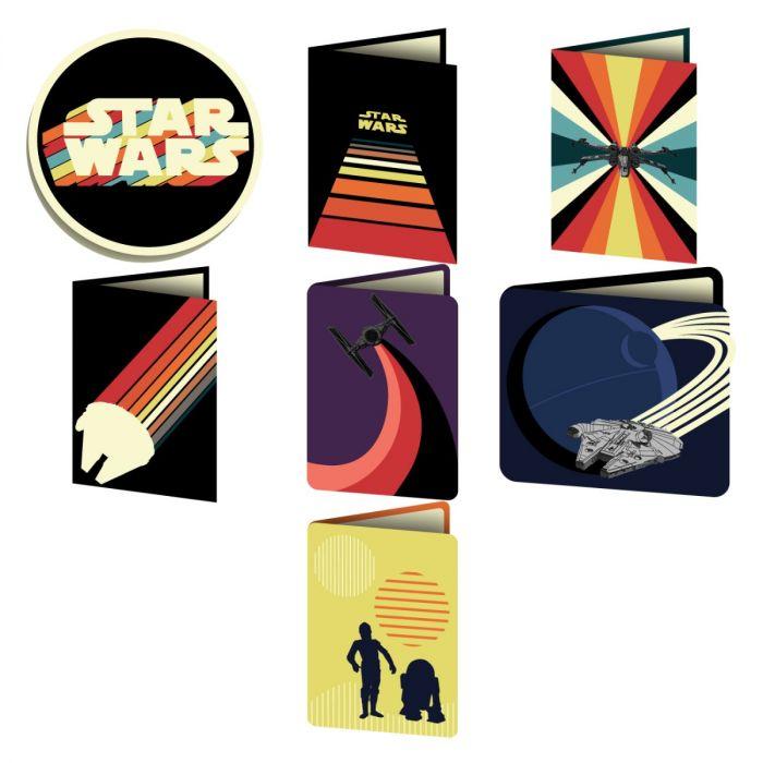 Star Wars Digital Image Set - Nostalgic Cards
