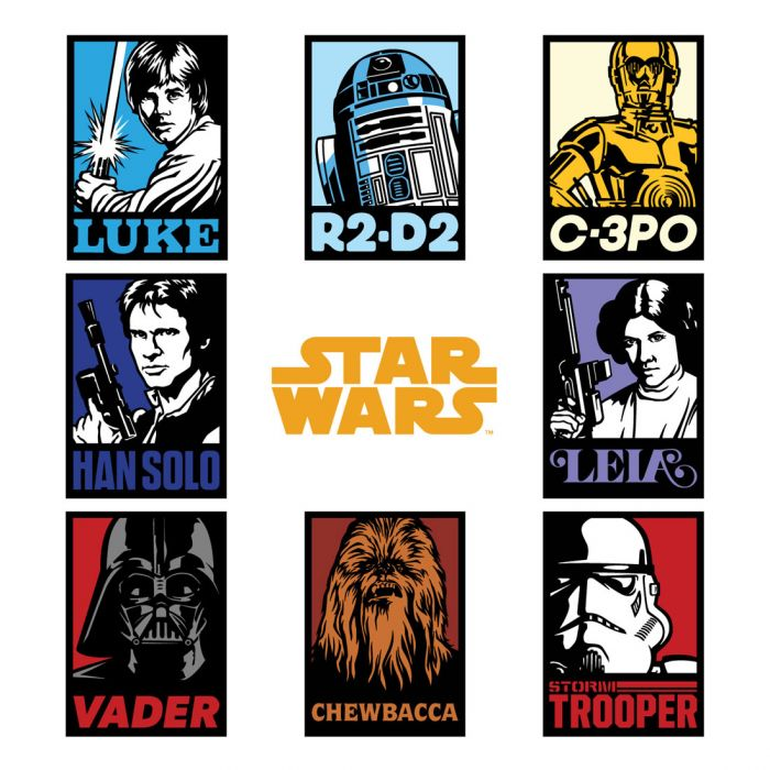 Star Wars Cricut Digital Image Set - The Force Is with Us