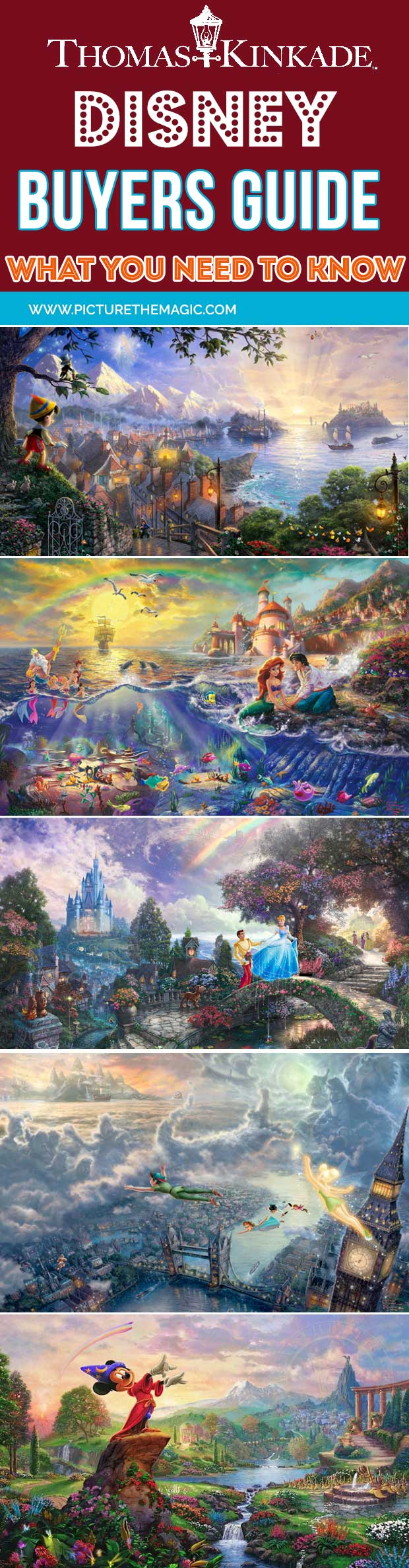 Best of Thomas Kinkade's Disney Collection. Check out this buyer's guide and reviews!