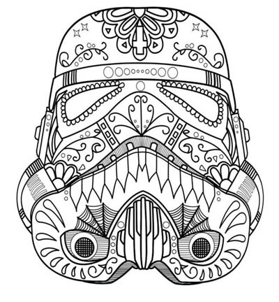 UPDATED] 101 Star Wars Coloring Pages...Darth Vader Coloring Pages...