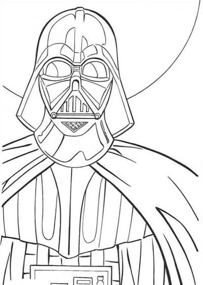 UPDATED 101 Star Wars Coloring Pages...Darth Vader ...