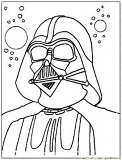 101 Star Wars Coloring Pages (Nov 2019)...Darth Vader ...