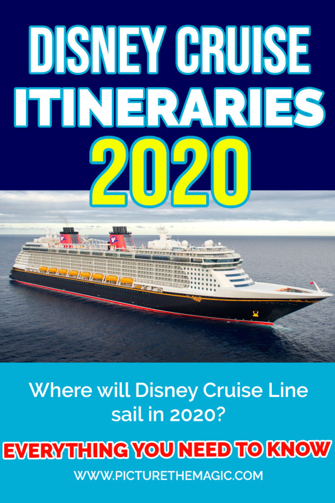 Disney Cruise 2020 Itineraries