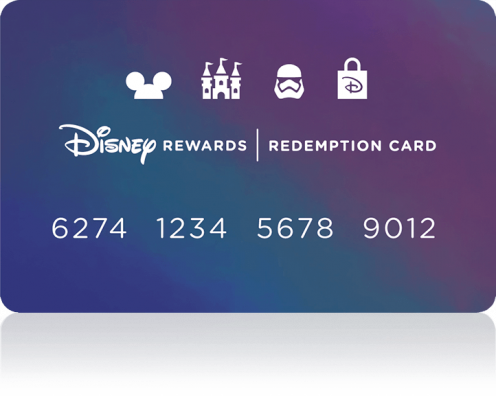 Disney Rewards Redemption Card