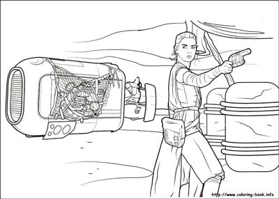 The Force Awakens Coloring Pages