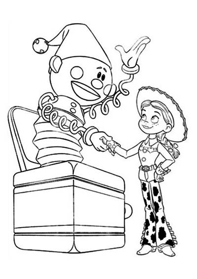 Jessie Coloring Pages