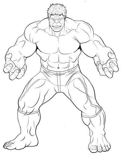 Avengers Infinity War Coloring Pages