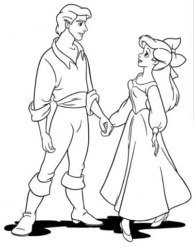 Prince Eric Coloring Pages