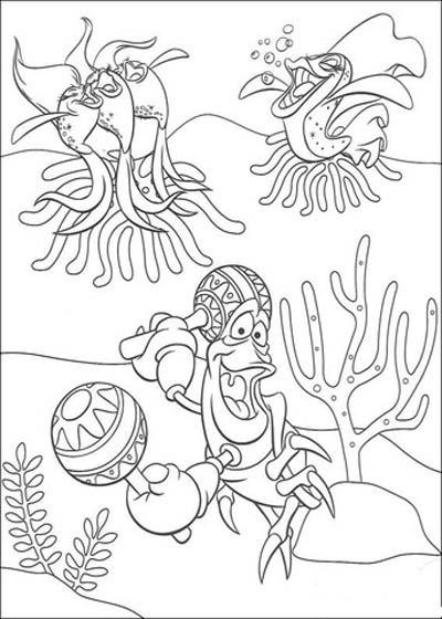 Sebastian Coloring Pages