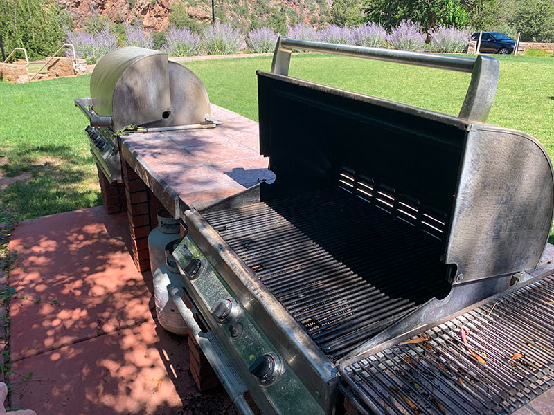 Grills at the Goodfellow Lawn