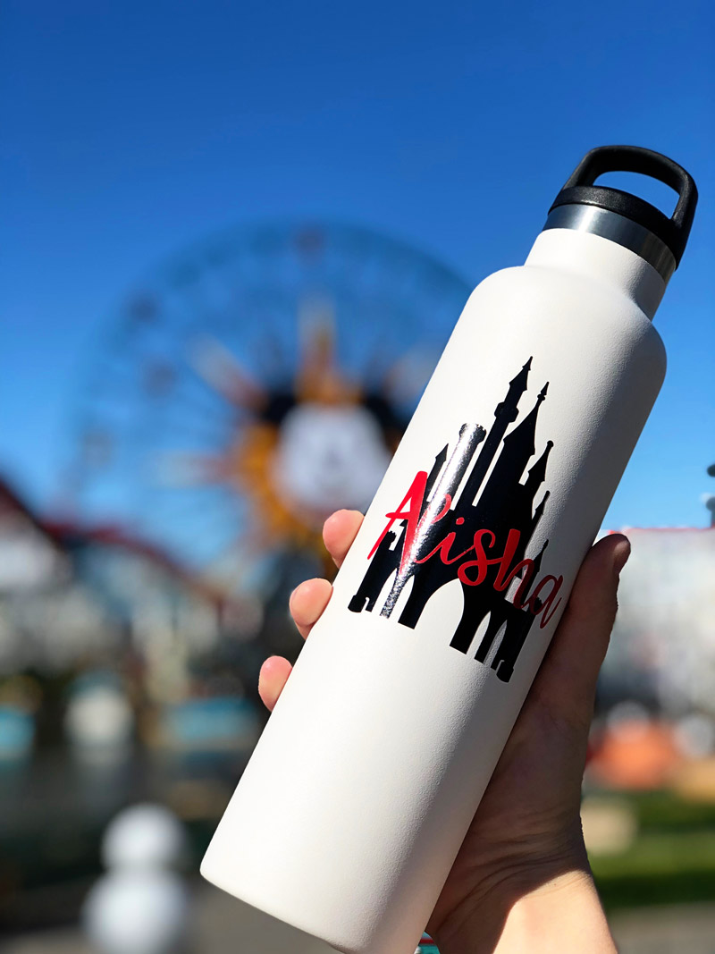 How to Make a Disney Water Bottle with Cricut
