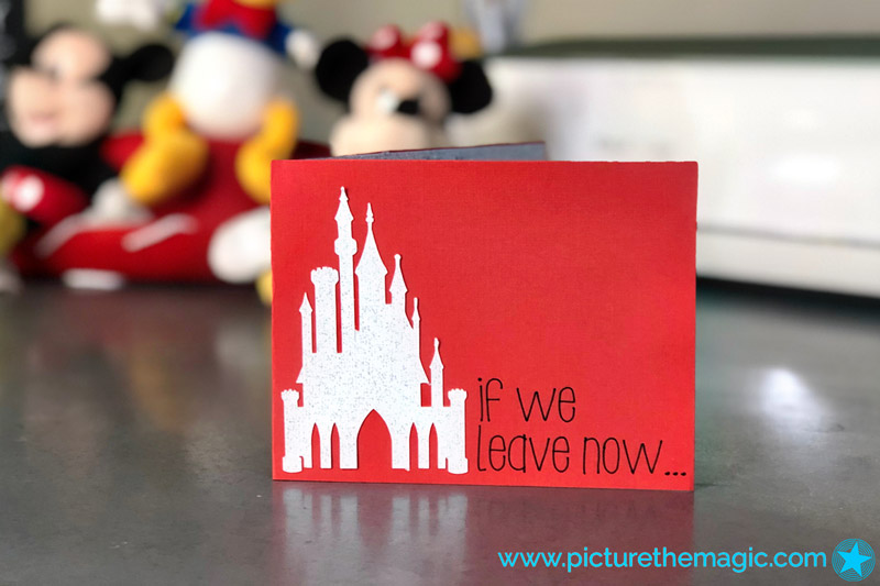 How to Make a Personalized Disney Card using Cricut Maker