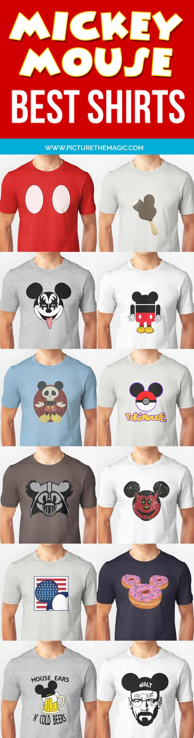 Mickey Mouse Best Shirts (Buyer's Guide)
