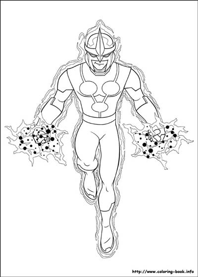 Ultimate Spiderman Coloring Pages