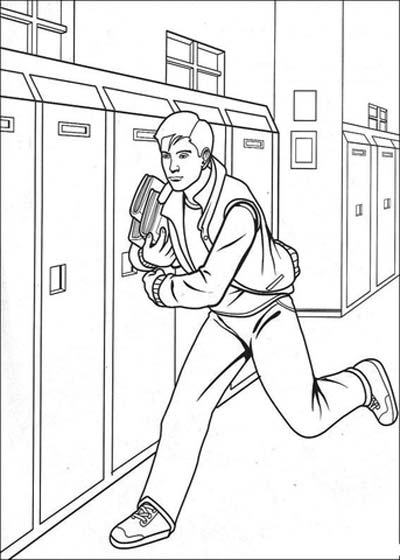 Peter Parker Coloring Pages
