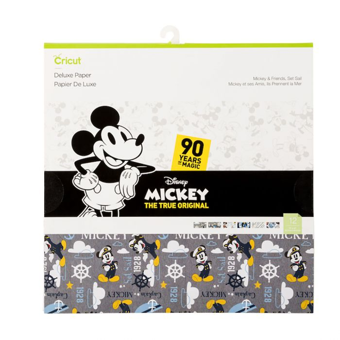 Mickey Mouse & Friends Set Sail, Paper for Cricut