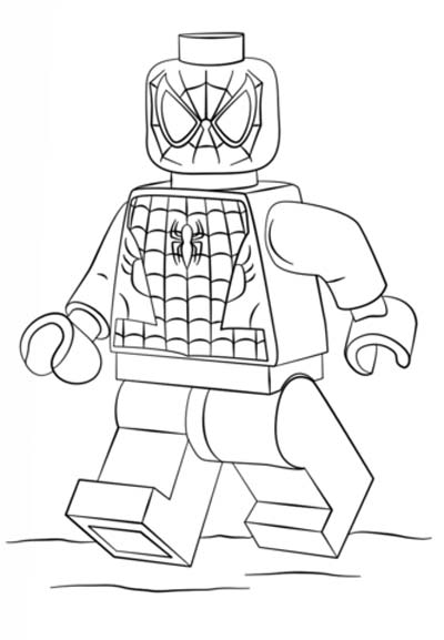 Updated 100 Spiderman Coloring Pages September 2020