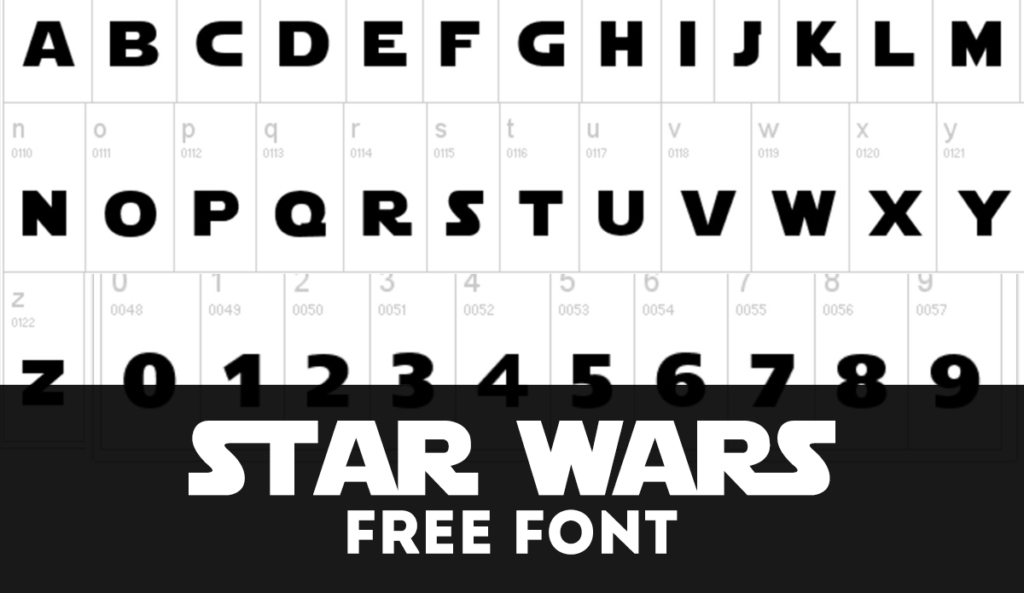 FREE Star Wars Font (August 2019)