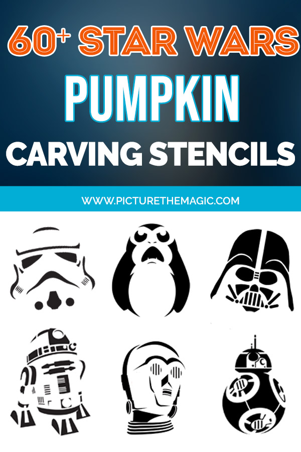 60+ Free Star Wars Pumpkin Stencils for Halloween