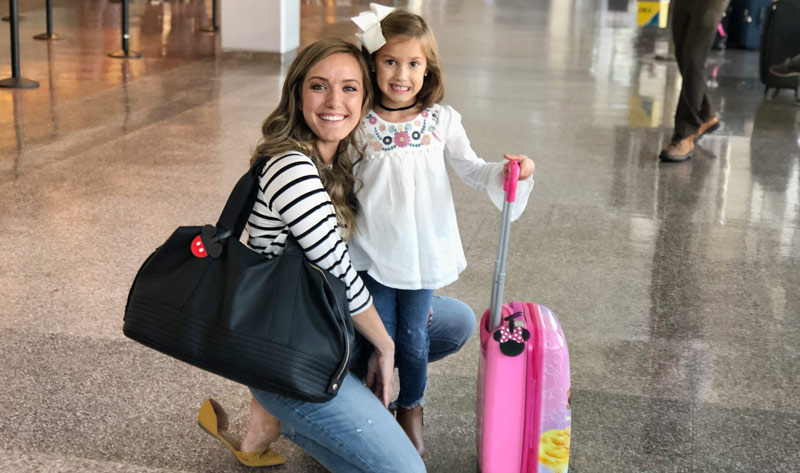 How to Make Disney Luggage Tags with the Cricut EasyPress Mini #cricut #cricutmade