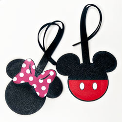 How to make Disney luggage tags with Cricut