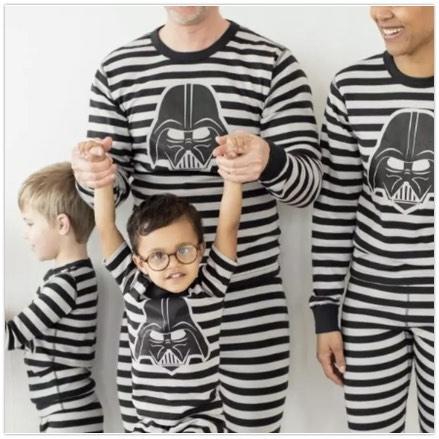 Matching Darth Vader Christmas Pajamas for the Family