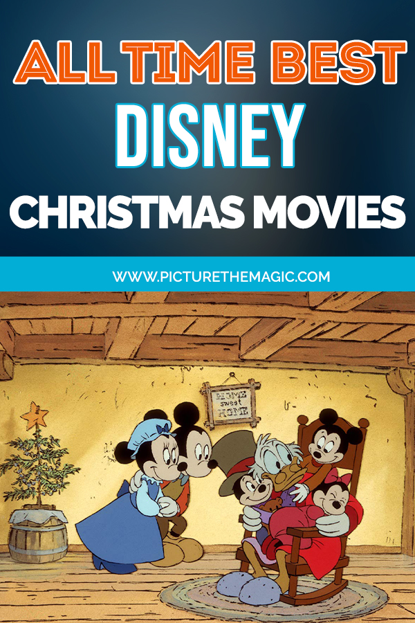 The Best Disney Christmas Movies of all-time! Get in the holiday spirit with one of these great Disney films. #disney #christmas