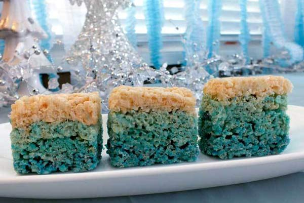 Disney Frozen Rice Krispie Treats