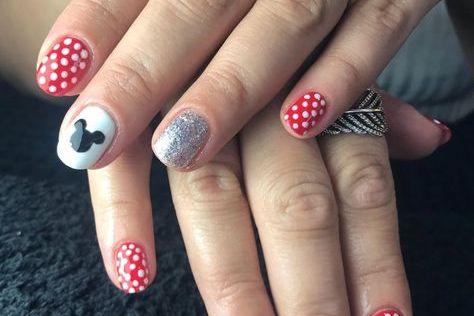 Mickey Mouse Nail Ideas