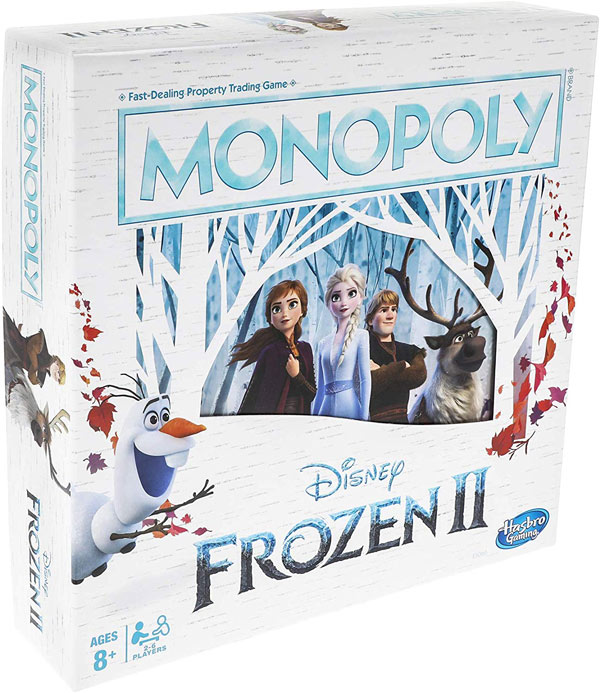 Frozen 2 Monopoly Board Game