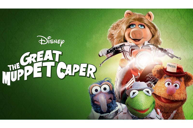 The Great Muppet Caper is one of the best movies on Disney Plus.