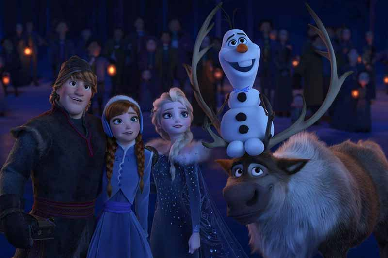 Olaf's Frozen Adventure on the list of Best Disney Christmas Movies!