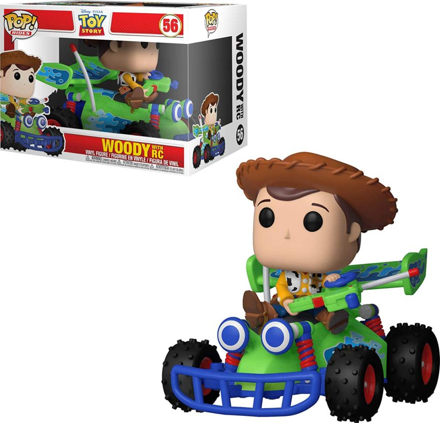 Funko Pop! Toy Story - Woody with RC