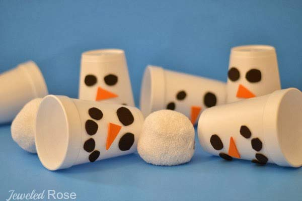 Olaf the Snowman Slam game for Frozen birthday party ideas