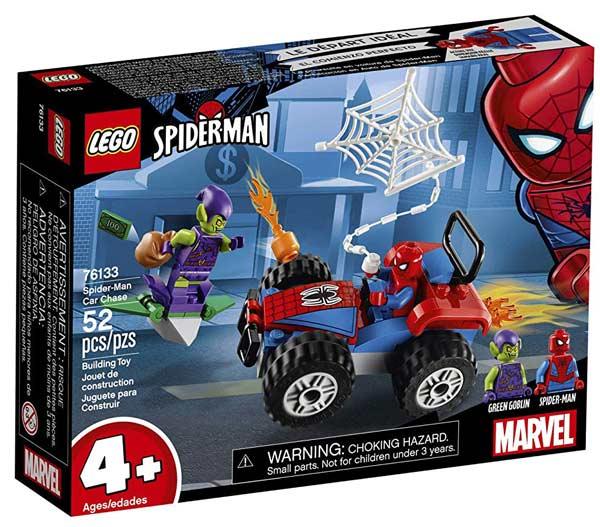 LEGO Marvel Spider-Man Car Chase Building Kit