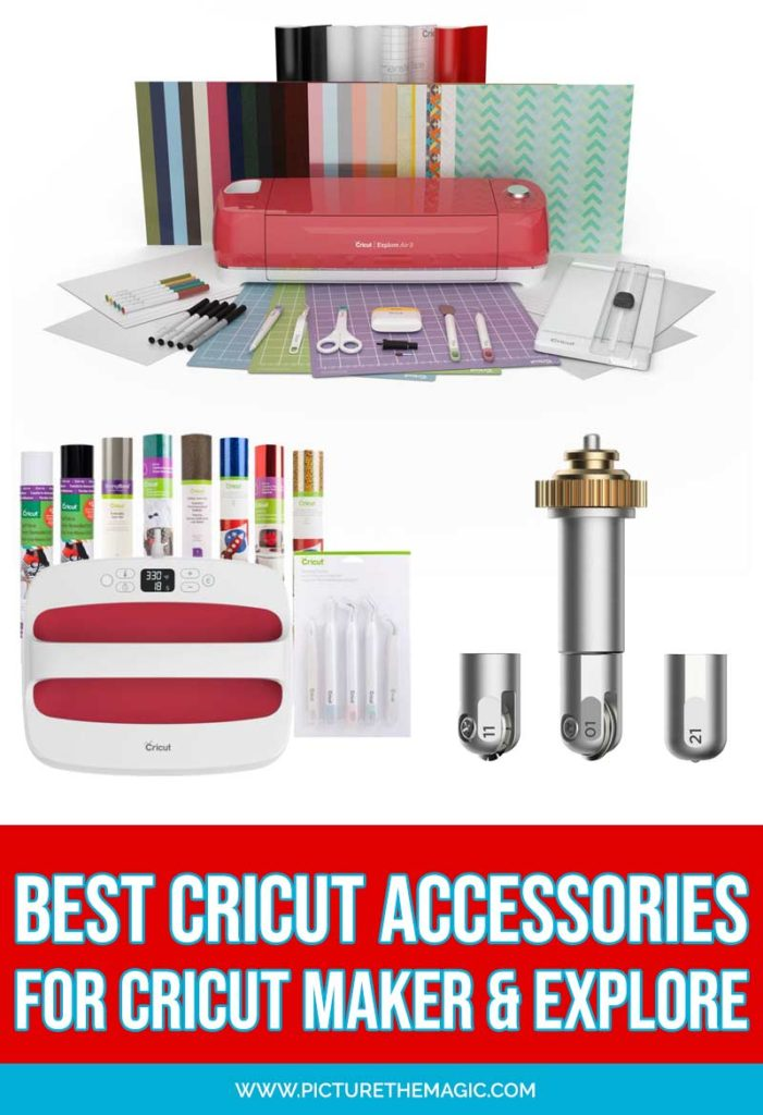 The Best Cricut Accessories & Supplies! New Cricut machine? What do you need to go with it? Enjoy this comprehensive list of must-have Cricut accessories and supplies for both the Cricut Maker & Cricut Explore machines. #cricutmade #cricut #cricutmaker