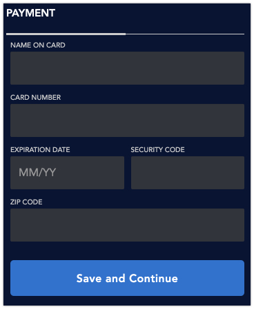 Step 3: Add billing information to gift a Disney+ subscription to someone.